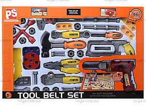 Игровой комплект инструментов для детей, 2136, фото