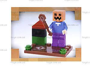 Игровой конструктор Minecraft, SL8906, фото