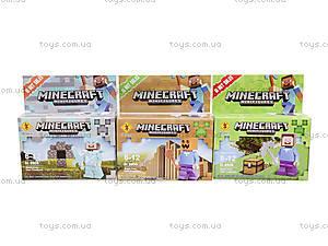 Игровой конструктор Minecraft, SL8906, отзывы