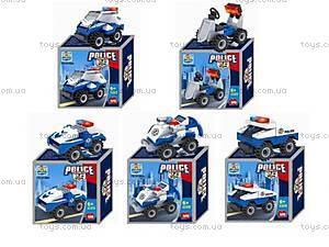 Игровой конструктор «Полиция», TS10101A-010