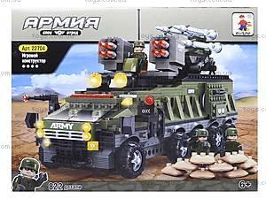 Игровой конструктор «Военная техника», 22704, фото