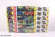 Игровой коврик 6 видов с двумя машинками, SQ80672-F, детские игрушки