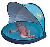 Игровой коврик-бассейн с козырьком от солнца «Пляж», 2201, купить