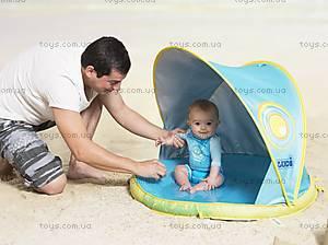 Игровой коврик-бассейн с козырьком от солнца «Пляж», 2201, фото
