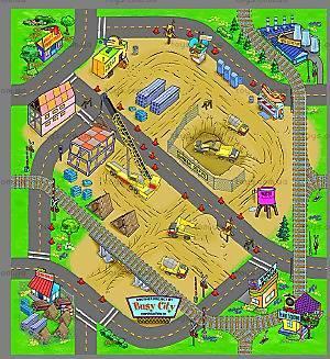 Игровой коврик серии «Машинки», OT257435, купить