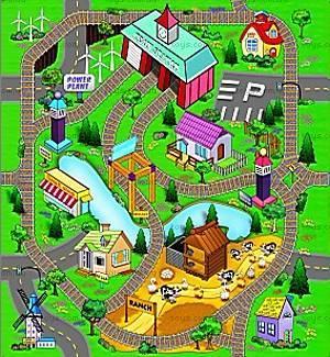 Игровой коврик серии «Машинки», OT257435, фото