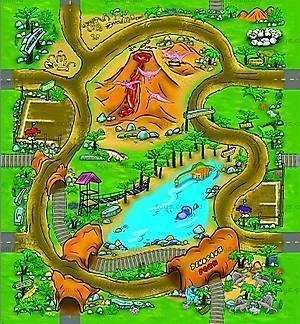 Игровой коврик серии «Машинки», OT257435, отзывы