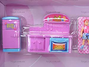 Игровой кукольный дом с аксессуарами и куклами, 1165, детские игрушки