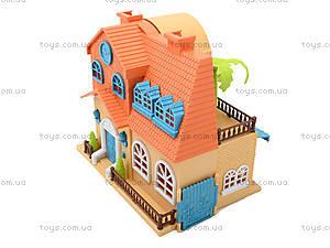 Игровой кукольный дом с аксессуарами и куклами, 1165, магазин игрушек