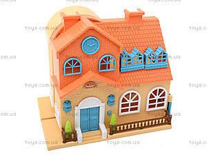 Игровой кукольный дом с аксессуарами и куклами, 1165, іграшки