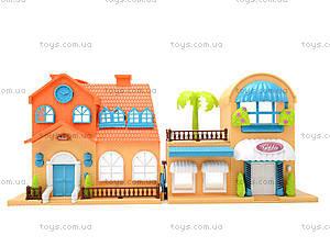Игровой кукольный дом с аксессуарами и куклами, 1165, доставка
