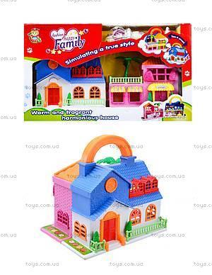 Игровой кукольный дом с мебелью, 32513A