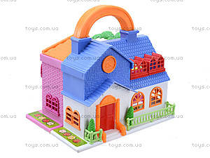Игровой кукольный дом с мебелью, 32513A, игрушки