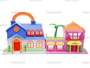 Игровой кукольный дом с мебелью, 32513A, детские игрушки