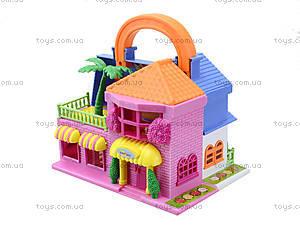 Игровой кукольный дом с мебелью, 32513A, магазин игрушек