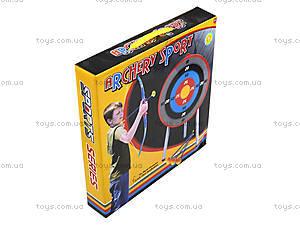 Игровой лук со стрелами и мишенью, 8822, фото