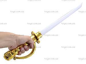 Игровой меч со световым эффектом, 1801-3A, купить