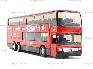 Игровой металлический автобус Welly, 52190W, купить