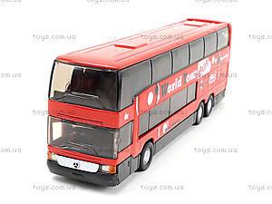 Игровой металлический автобус Welly, 52190W, отзывы