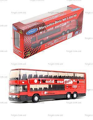 Игровой металлический автобус Welly, 52190W