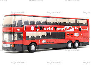 Игровой металлический автобус Welly, 52190W, цена