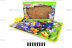 Игровой музыкальный коврик для малышей, YQ2981