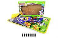 Игровой музыкальный коврик для малышей, YQ2981, игрушки