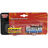 Игровой набор моделей «Городской транспорт», SB-15-06-BLC