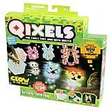 Игровой набор аквамозаики из пикселей «Светящийся в темноте», 87044, купить