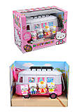 Игровой набор Hello Kitty в автобус, TM551, купить