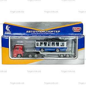 Игровой набор «Городской автотранспортер», SB-15-04-WB