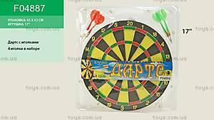 Игровой набор «Дартс», F04887, купить