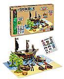 Игровой набор StikBot «Остров сокровищ», 2110, купить