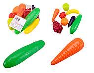 Игровой набор для детей «Фрукты и овощи», 362, набор