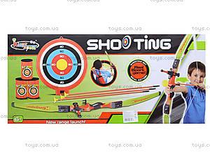 Игровой набор для детей «Лук со стрелами на присосках», 881-03, фото