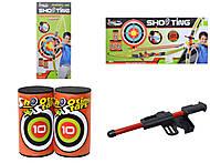 Игровой набор для детей «Лук со стрелами на присосках», 881-03, игрушки