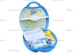 Игровой набор для детей «Юный доктор», 2590, детские игрушки