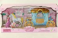 Игровой набор для девочки «Карета», SS015A, фото