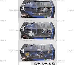 Игровой набор для мальчика Police Station, JZ2134C35C3, купить