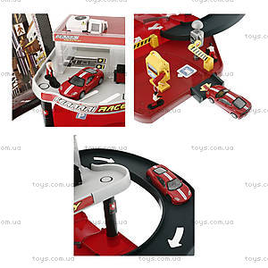 Игровой набор для мальчиков «Гараж Ferrari», 18-31231, купить