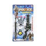 Игровой набор для мальчиков «Полиция», 398C-7, тойс