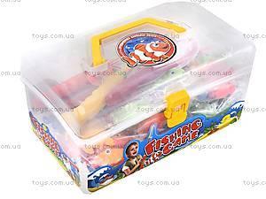 Игровой набор для рыбалки в чемодане, 28-A, игрушки