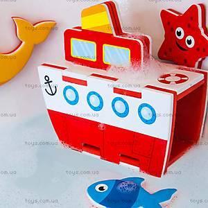 Игровой набор для ванной «3D-модель парохода», MK 195, фото