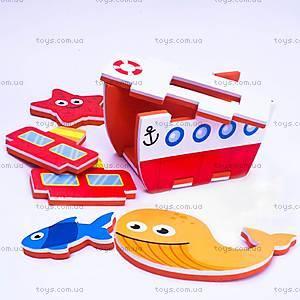 Игровой набор для ванной «3D-модель парохода», MK 195, отзывы