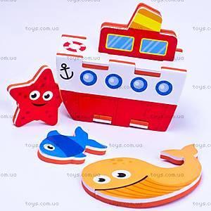 Игровой набор для ванной «3D-модель парохода», MK 195, цена
