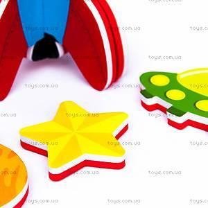 Игровой набор для ванной «3D-модель ракеты», MK 232, фото