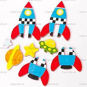Игровой набор для ванной «3D-модель ракеты», MK 232, отзывы
