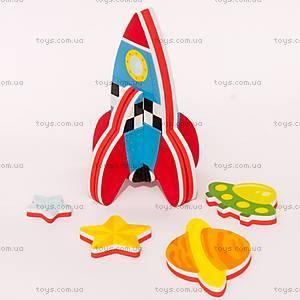 Игровой набор для ванной «3D-модель ракеты», MK 232, цена