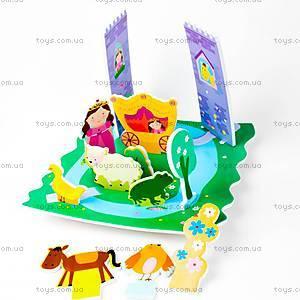 Игровой набор для ванной «3D сцена Замок принцессы», MK 153, купить