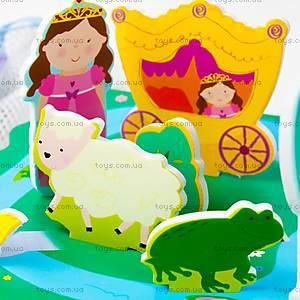 Игровой набор для ванной «3D сцена Замок принцессы», MK 153, цена